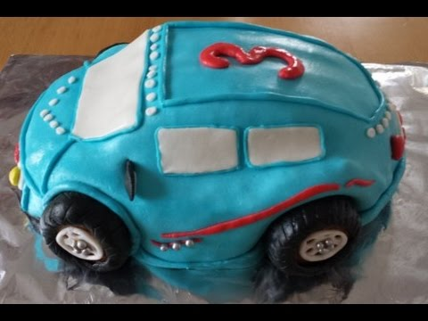 Auto Torte Selber Machen Youtube