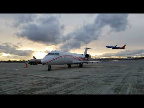 VIP Configured Bombardier CRJ-200 (KBUF Departure)