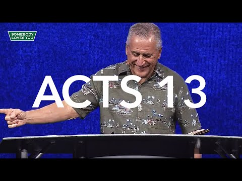 Acts 13 // Wednesday Night Service