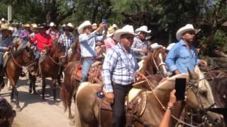 Cabalgata Ciudad Fernández San Luis Potosí Mayo 14 2017