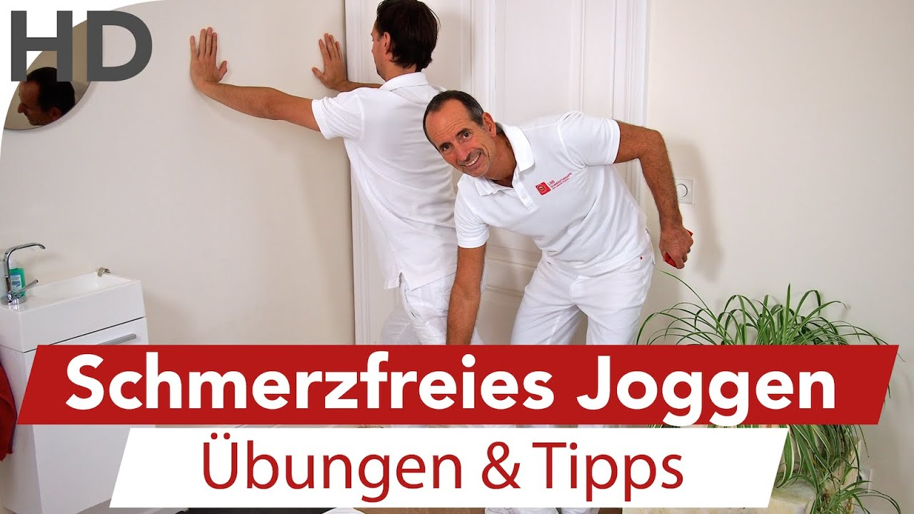 Schmerzfrei joggen // Dehnübungen für Läufer | Liebscher ...