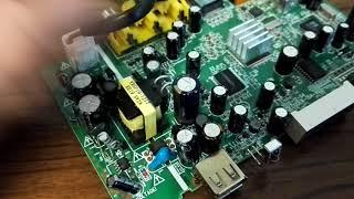 Ремонт цифровий ТВ приставки DColor DC711HD