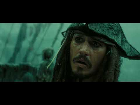 Pirates of the Caribbean AWE  Davy Jones Death  Escaping The Maelstrom 1080p, HD