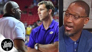 Don't throw Luke Walton under the bus for the Lakers' failures - Tracy McGrady | The Jump