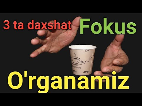 3 TA G'AROYIB FOKUSLAR SIRI 3 EFFECTIVE FOCUS AND THEIR SECRETS.3 ЭФФЕКТИВНЫХ ФОКУСА И ИХ СЕКРЕТЫ.