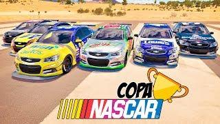 CORRIDA VALENDO 1 MILHÃO DE CRÉDITOS E AGORA QUEM LEVA - COPA NASCAR - FORZA HORIZON 3