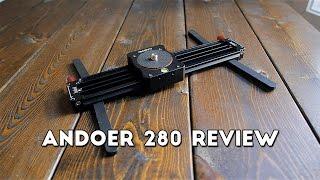 Andoer 280 Review ~ BEST CAMERA SLIDER UNDER $80?