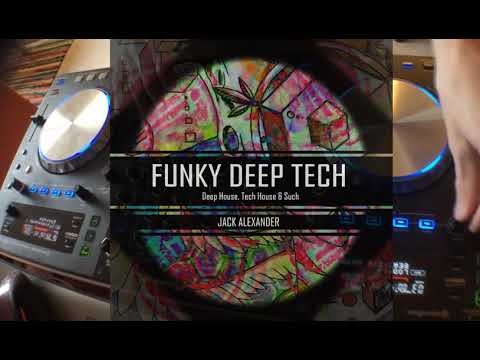 Funky Deep Tech House Mix - Jack Alexander