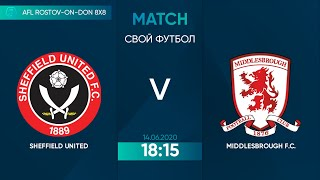 Sheffield 1 1 Middlesbrough 3 тур Англия