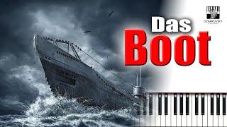 Das Boot Soundtrack - piano cover by A Dzarkovsky видео