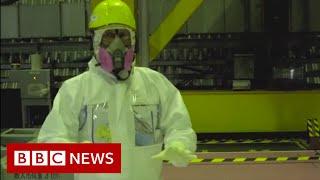 Fukushima: How to move a mountain of radioactive soil  - BBC News