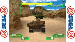 Alien Front Online - Dreamcast Gameplay Sample SD