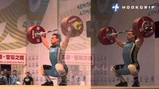 Ilya Ilyin - 183kg/190kg Snatches