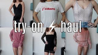 65851b2fc4  500 NASTYGAL TRY ON HAUL  going out .