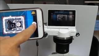 소니 미러리스 카메라 셔터를 스마트폰으로 원격 조작