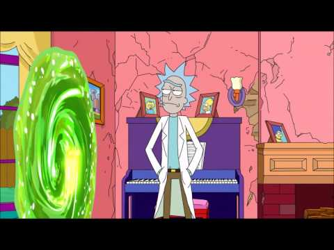 Rick & Morty - Simpsons Intro (Deutsch)