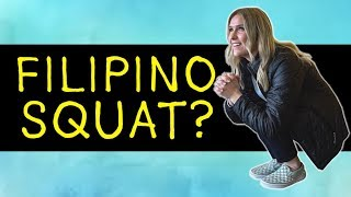 AMERICANS Try The FILIPINO SQUAT? (Asian Squat)