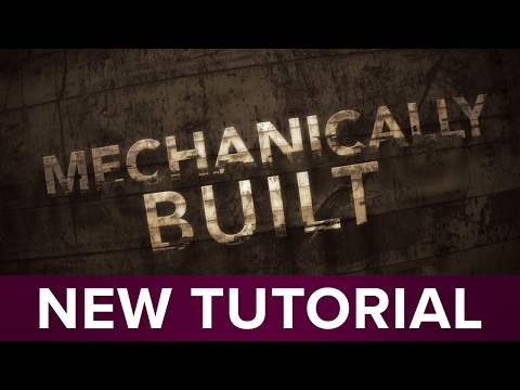 Super Easy Industrial Type Transition - After Effects Tutorial