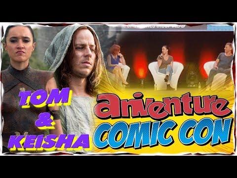 Game of Thrones Panel Q&A Tom Wlaschiha,Keisha CastleHughes