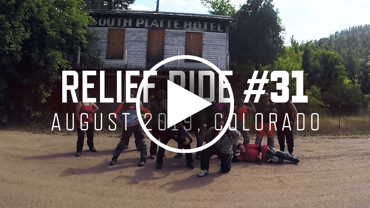 Relief Ride 31 | August 2019 | Colorado