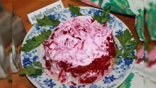 Салат со свеклой и соленым огурцом - school-culinary.ru