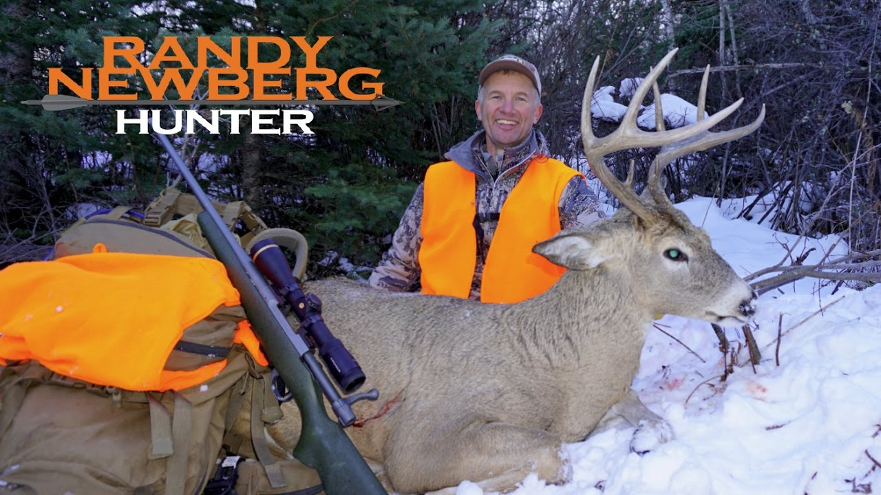 Hunting deer with Randy Newberg - Montana One-day Whitetail (S4 E10)