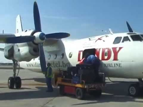 THE SIGHT & THE SOUND 2/5 : Flying Dandy AN-24 inflight documentary from Bratislava to Leipzig