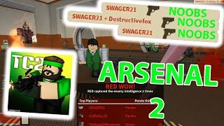 ARSENAL PART TWO | ROBLOX TC2 Gameplay
