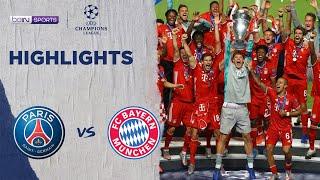 巴黎聖日耳門 0:1 拜仁慕尼黑 | Champions League 19/20 Match Highlights HK