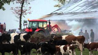 Złotoria. Pożar. 29 IX 2011