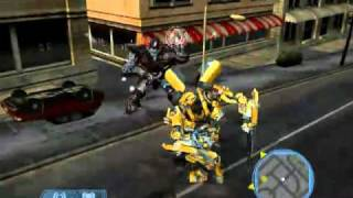 Transformers The Game PC Gameplay