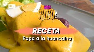 Receta peruana: Papa a la huancaína | Más Rico