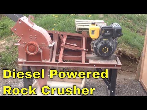 MBMMLLC.com: Diesel Powered Rock Crusher Hammer Mill Crushing And Grinding Gold Ore