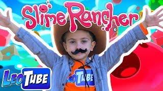 Leo el ranchero de Slimes en Slime Rancher