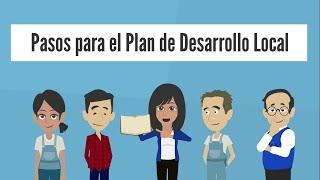 Pasos para el Plan de Desarrollo Local
