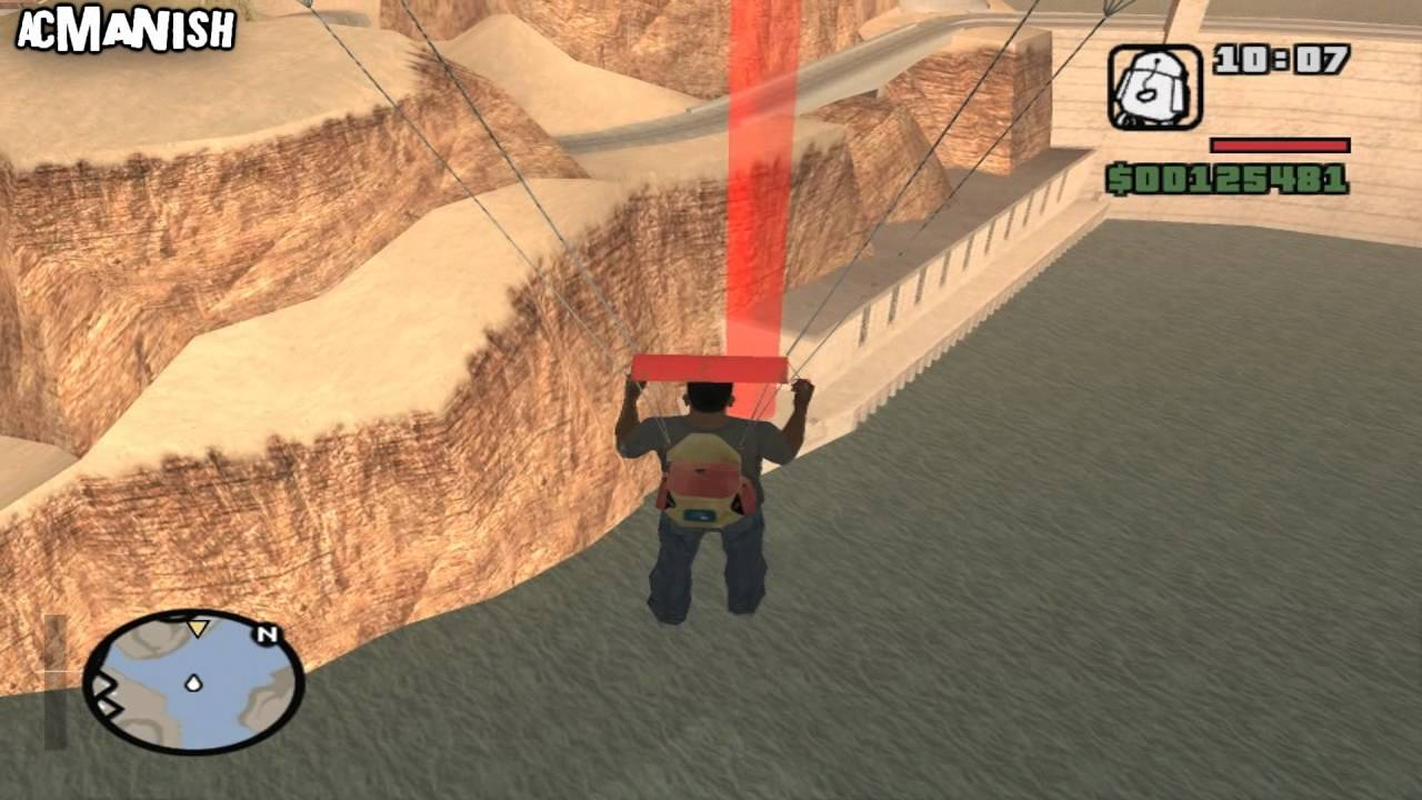 Gta San Andreas Mission  Dam And Blast
