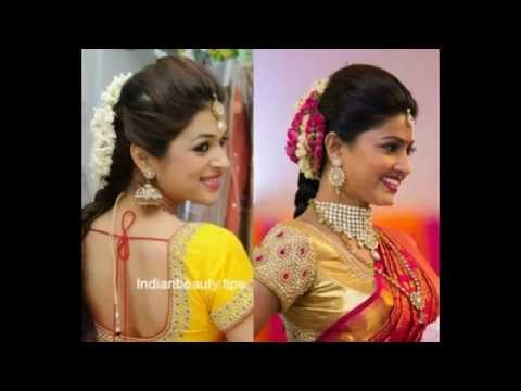 Homely And Traditional South Indian Women Hair Styles