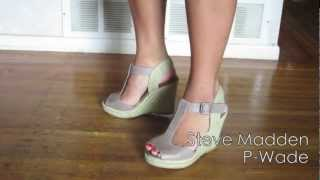 Shoe Collection Part 2: Heels and Wedges