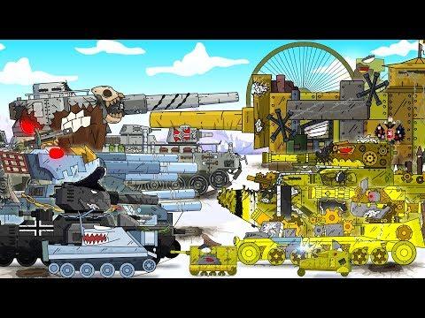 Все серии Монстры Российской Империи - Мультики про танки