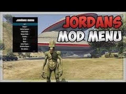GTA 5 Online Mod Menu 1 37 JORDANS MENU! (PS4, PS3, Xbox One \u0026 Xbox 360)  NEW 2017