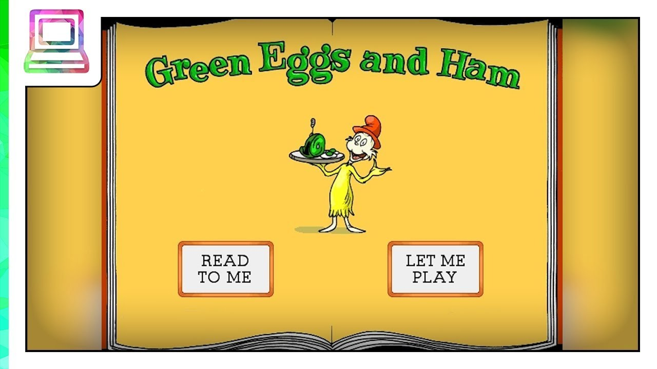 Living Books Green Eggs And Ham Read To Me Youtube
