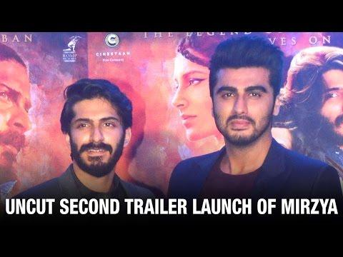 UNCUT: Arjun Kapoor At Mirzya's Trailer Launch | Harshvardhan Kapoor | Rhea Kapoor | Bollywood News