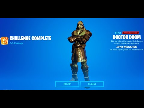 Unlocking Gold Style For Doctor Doom - Golden Doom Set Gameplay. |