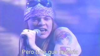 USED TO LOVE HER (Guns N' Roses)