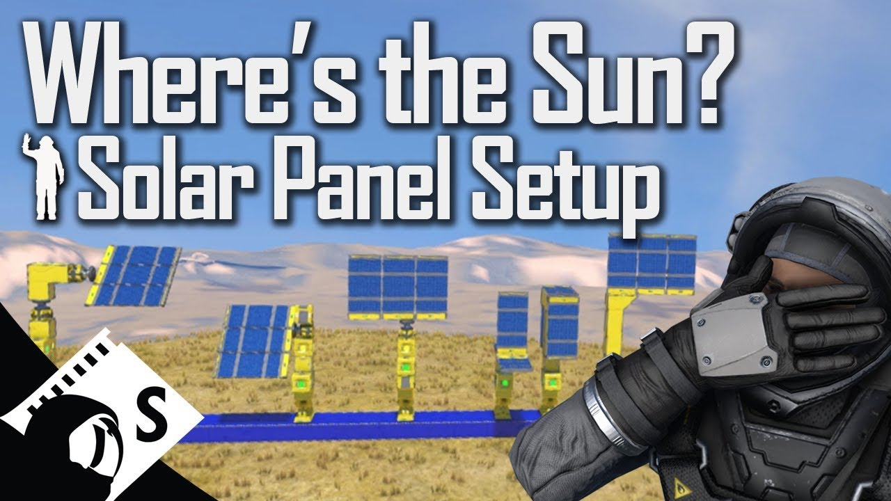 Space Engineers Tutorial Solar Panel Tests With Scripts