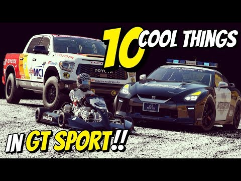 10 *COOL THINGS* you may not know about in GT SPORT!!