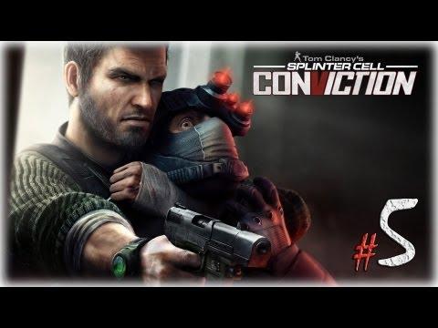 Смотреть прохождение игры Splinter Cell: Conviction. Серия 5 - Погоня.