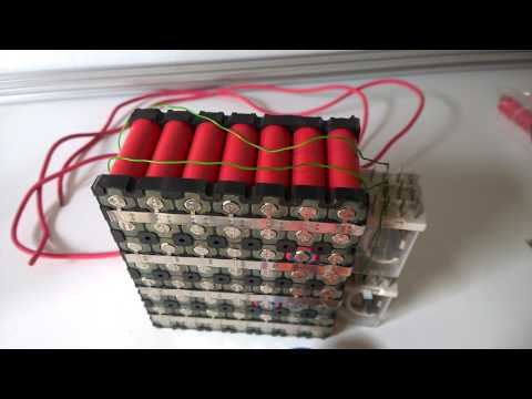 DIY 16.8V 4.2V 18650 Lithium-Ion Battery Pack Sample
