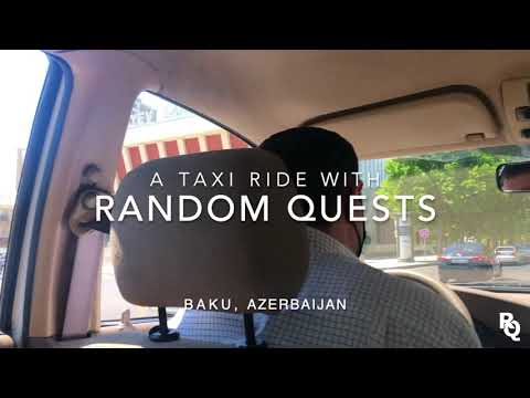 Taxi Driving   BAKU, Azerbaijan 🇦🇿 #4 - [White Bat Audio - Rain City]