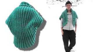 How to crochet a shrug - © Woolpedia